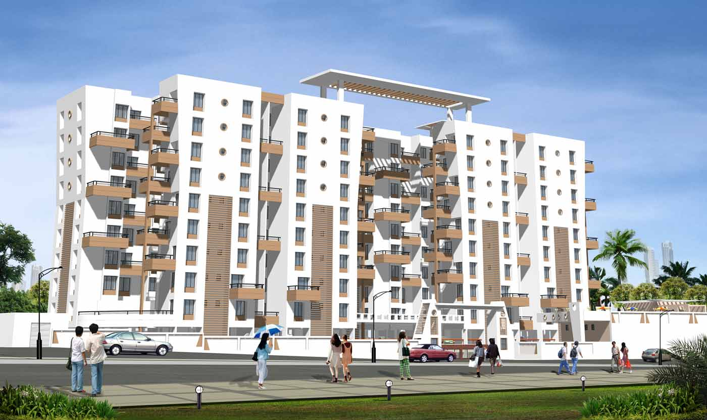 1 BHK residential flats, apartment in Wadgaon Sheri, Pune