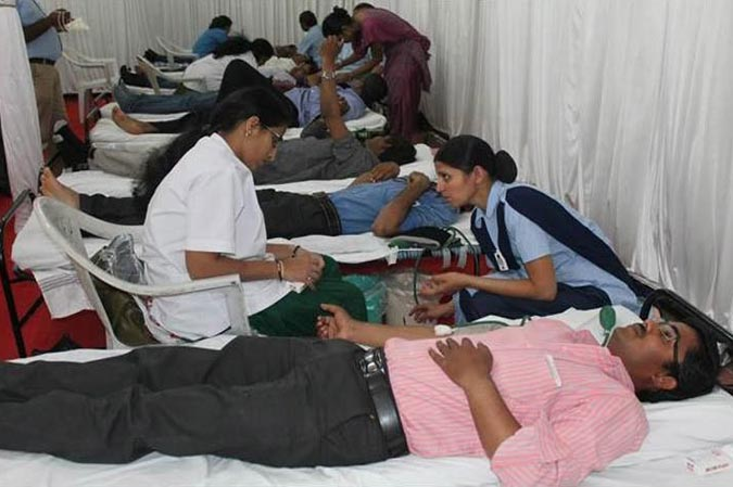anshul group blood donation camp