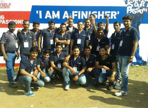 anshul group at pune marathon